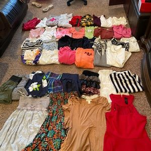Branded clothing lot